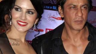 SRK Shooting Special Item Song Laila O Laila with Sunny Leone for 'Raees'