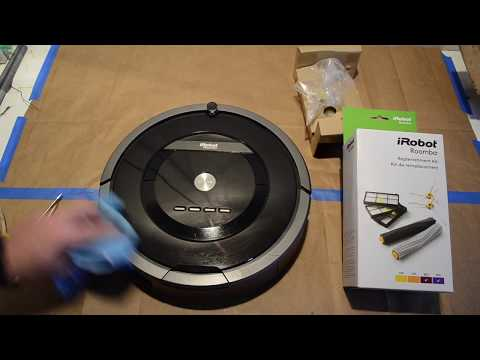 How to Change Roomba Filter, Rollers, and Side Brush.