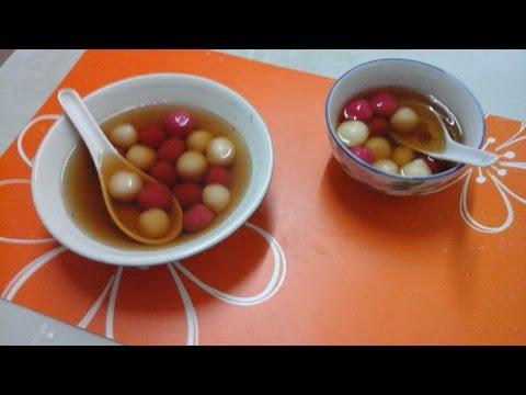 Kay's DessertTube | Chinese Glutinous Rice Ball (Tang Yuan) | ENG. VERSION