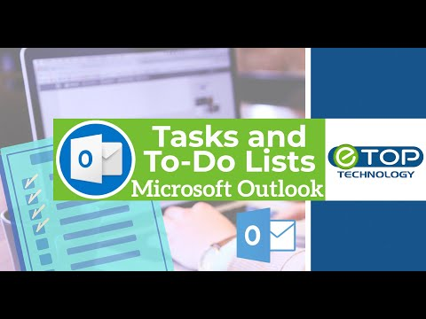 ✅Microsoft Outlook 2016 Tasks and To-Do Lists🗒