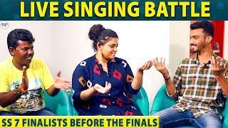 SS 7 Finalists Live Performance : Punya   Murugan   Sam Vishal   Gowtham   Vikram   LittleTalks