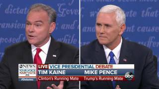 Vice Presidential Debate | Full VP Debate Highlights