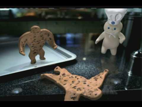 'Wrestler'  Pillsbury Cookies Commercial