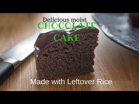 Chocolate Left Over Rice Cake.  My Kitchen Stories- Cook, Travel, Eat