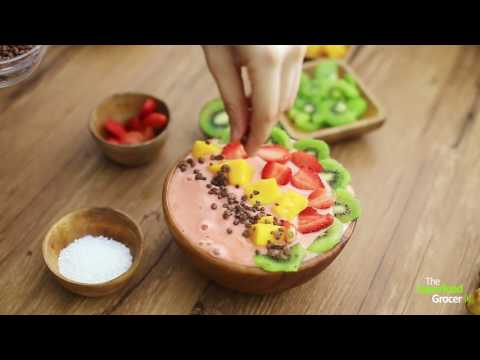 Strawberry Banana Smoothie Bowl | The Superfood Grocer Philippines