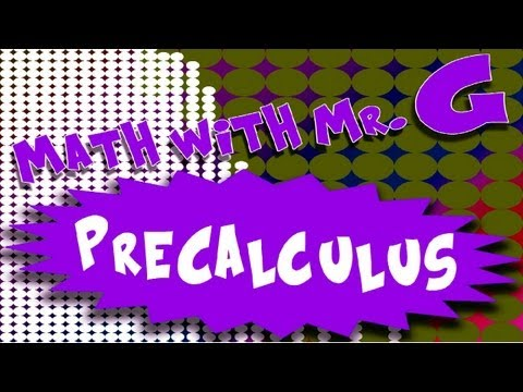Precalculus - Systems of Equations
