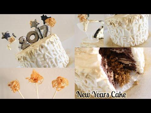 New Years Cake! CakeTUBEjb X The Lovely Baker