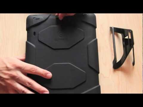 Install And Review Of Griffin Survivor Case For iPad 2