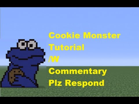 Minecraft 360: How To Build The Cookie Monster *Remake*