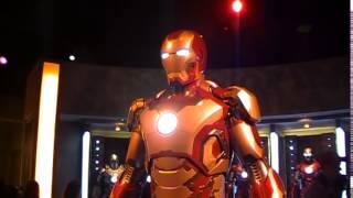 Disneyland: IRON MAN tech/ Mark42 (Innoventions)