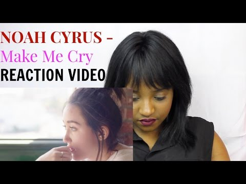 Noah Cyrus Make Me Cry ft Labrinth Reaction Video