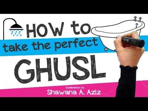 How to take Ghusl : Ritual bath in Islam   Shawana A. Aziz