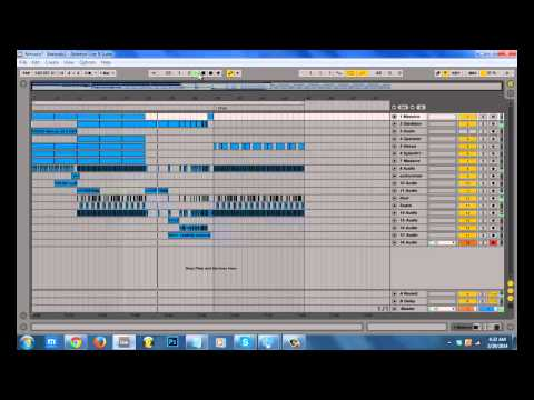 Free Ableton Live Project File - Melodic Dubstep Tune