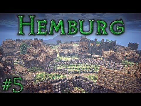 Hemburg: Ep5 - Shops & Guard Barracks (Timelapse)