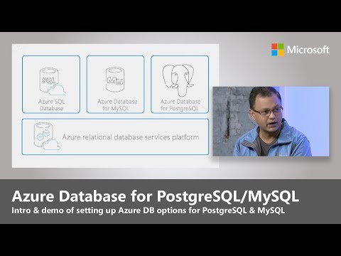 Introducing Azure Database for PostgreSQL and Azure Database for MySQL