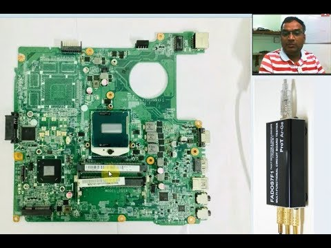 FADOS7F1 LAPTOP MOTHERBOARD  MEMORY HUB TEST (PART 3) हिंदी