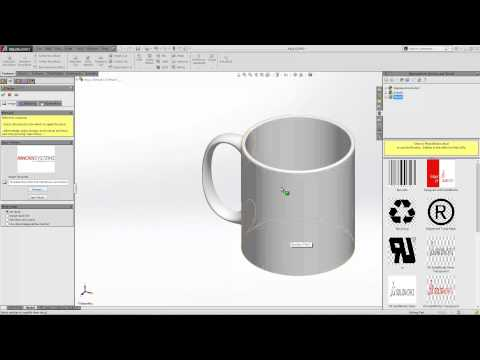 Inserting Decals in SOLIDWORKS