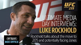 Luke Rockhold: I think I'm better than Jon Jones in a lot of ways | UFC 239