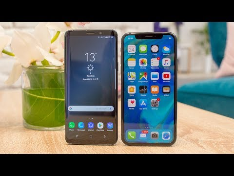 Samsung Galaxy S9 vs Apple iPhone X: first look