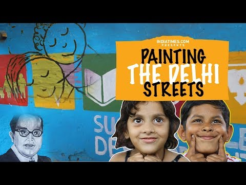 Indiatimes - Painting The Delhi Streets With Delhi's NGO 'Light Up'