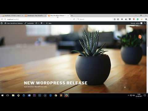 How to Install WordPress 4.8.2 on Windows 10/8/7
