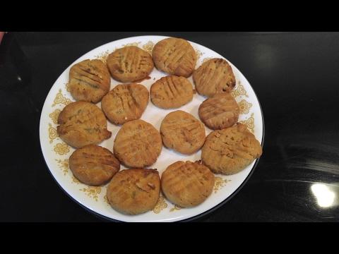 Gluten & Sugar Free Peanut Butter Cookies