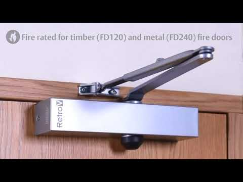 Insight Security - tried, tested and trusted Products - Union RetroV Overhead Door Closer