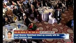 Kapil Sharma vs Arvind Kejriwal.Kapil gets IOTY award.
