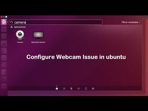 configure integrated webcam to work with Ubuntu on Virtualbox
