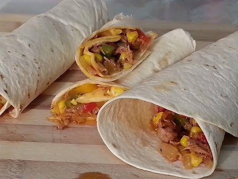 Tuna Wrap Recipe | Recipes By Chef Ricardo