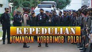 Asistensi Dankor Brimob Polri dalam rangka Pengamanan malam Hari Raya Idul Fitri 1441 H