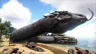 Quái thú thần thoại trong ARK, Basilisk rắn khổng lồ! (ARK Mod)
