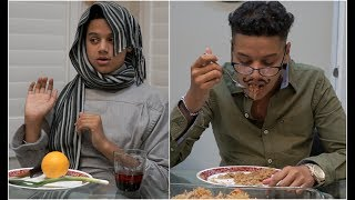 White Family Dinners vs Desi Family Dinners