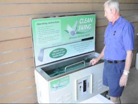 Ultrasonics: Clean Swing Golf Club Cleaner