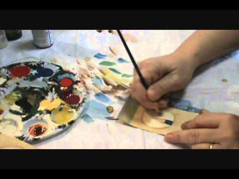 Starla's Candle Making - Painting Sheep Hang Tags