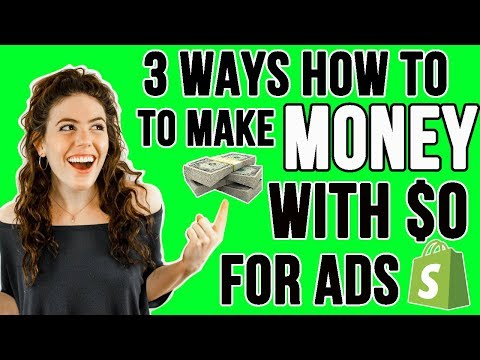 How to Get Free Traffic to Your Shopify Store | Starting Shopify With Only $29