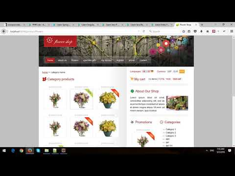 Building eCommerce Store Using Spring MVC and Spring Data JPA in Spring Boot - Part 5 - Details