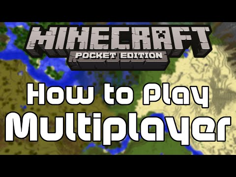 How to Play Multiplayer in Minecraft PE (Local)