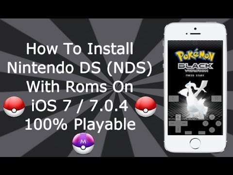 Install Nintendo DS Emulator & Games On iOS 7 / 8 NO Computer - NDS4iOS