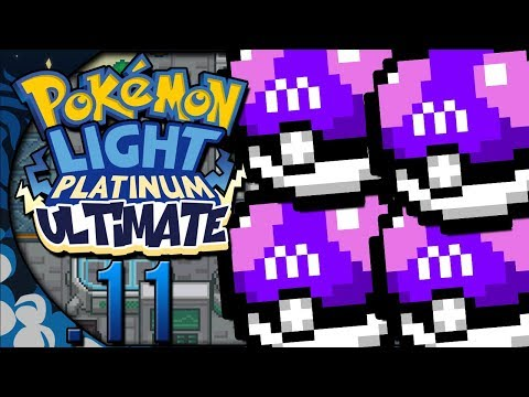 Pokémon Light Platinum Ultimate #11 BUG DA MASTER BALL INFINITA! (GBA)