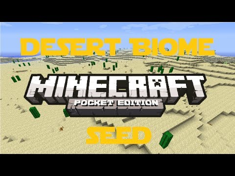 Incredible Desert Biome Seed Review! - Minecraft Pocket Edition