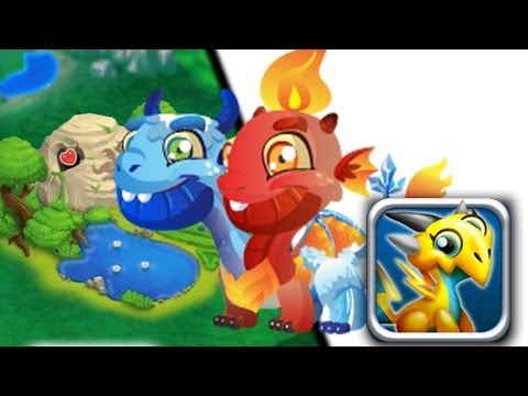 How to breed Ice & Fire Dragon 100% Real! Dragon City Mobile!