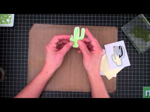 3-D Cactus Card