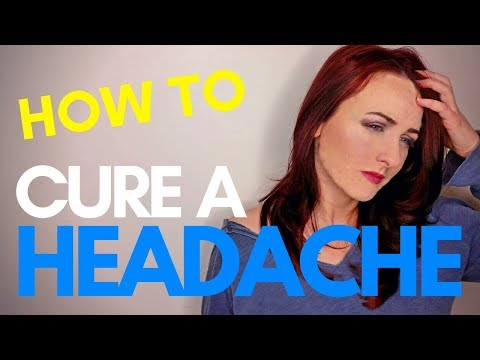 How to Cure A Headache Without Medicine | Easy Home Remedy