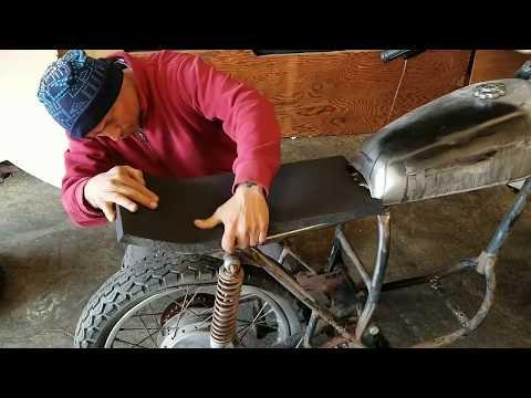 Working on a motorcycle seat foam - how to shape seat foam