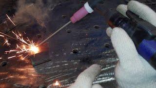 More brilliant ideas ! Easier electric welding method that very few TIG welders know