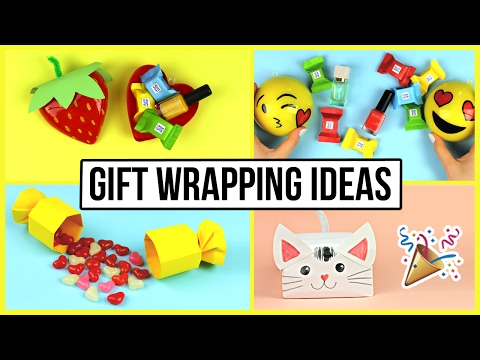 Cute & Creative DIY Gift Wrapping Ideas for Valentine's Day, Birthday, Christmas 🎁
