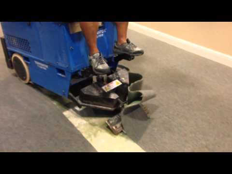 Glued Carpet Removal on Concrete