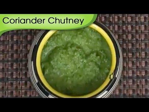 How To Make Coriander Mint Chutney   Hara Dhaniya Chutney   Vegetarian Dip Recipe by Ruchi Bharani