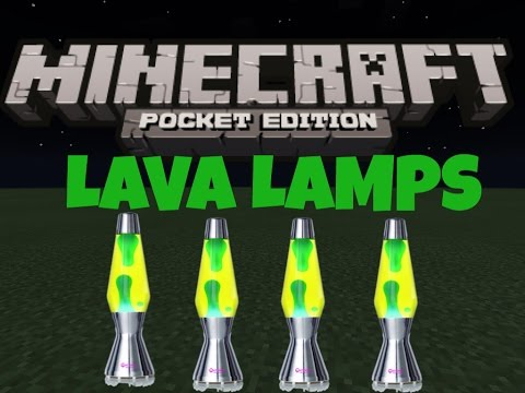 How to make a lava lamp in MCPE | How To #24